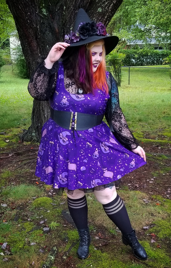 Witchy Vibes Dress